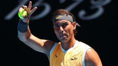 Rafa Nadal ya está en cuartos de final del Open de Australia 2019. (Getty)