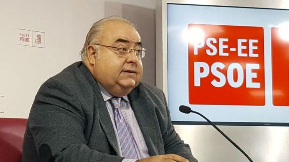 Tontxu Rodríguez (PSOE). Foto: Europa Press
