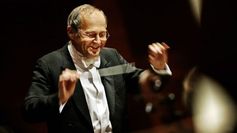 Adam Fischer en el Palau de la Música de Valencia. Foto: Europa Press
