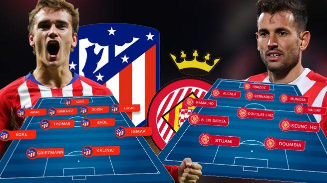 Atlético – Girona: el Atlético quiere evitar un 'Gironazo'