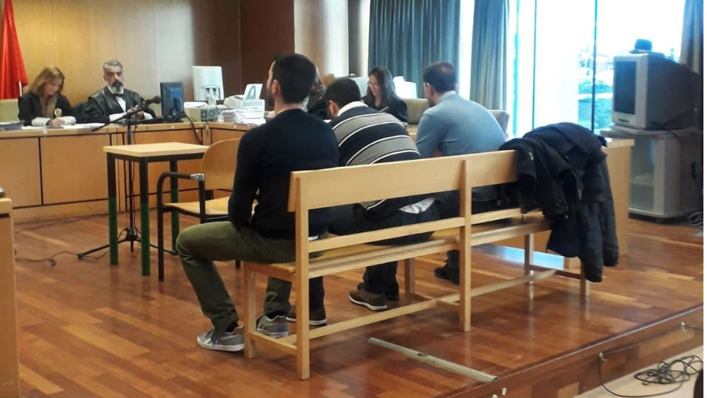 Los acusados de la Manada de Collado Villalba. Foto: Europa Press
