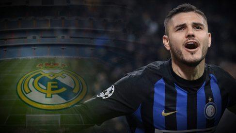 Las apuestas ven a Icardi en el Real Madrid.