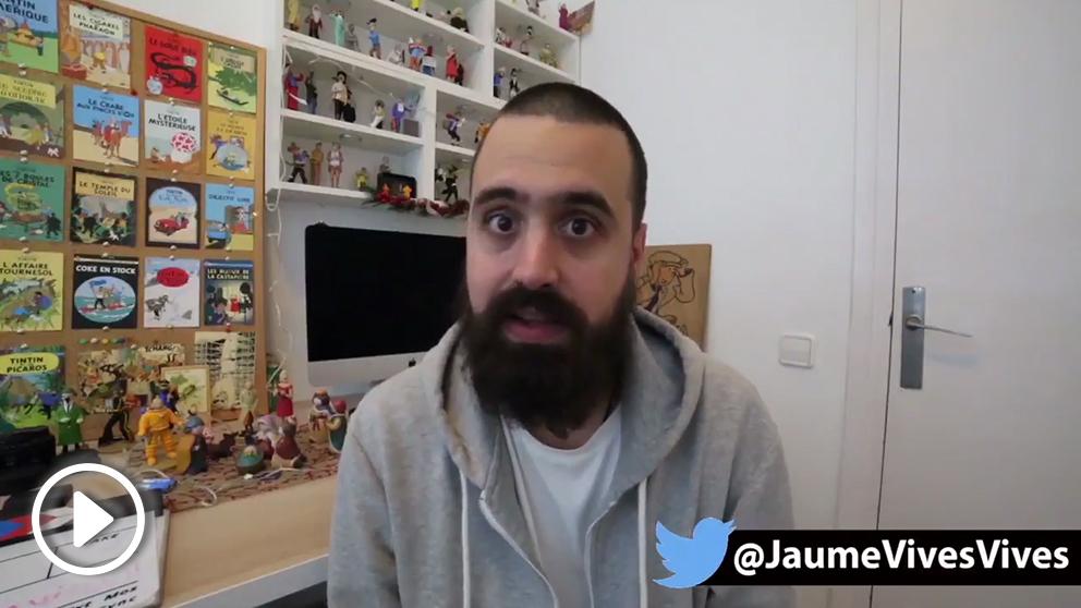 Jaume Vives, portavoz de Tabarnia, desafía a los CDR que atacaron a VOX: «¡Indepes y antifas, se os ha acabado la fiesta: Viva España y Viva Cataluña!»
