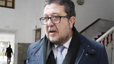 El portavoz del grupo parlamentario de Vox, Francisco Serrano. Foto: EFE