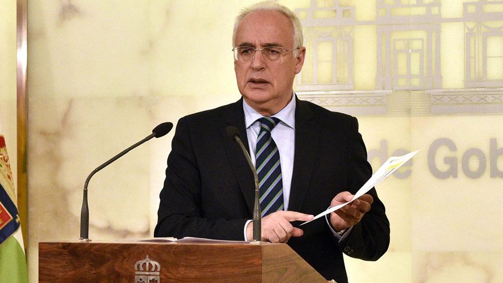 El presidente del Gobierno riojano, José Ignacio Ceniceros. Foto: Europa Press