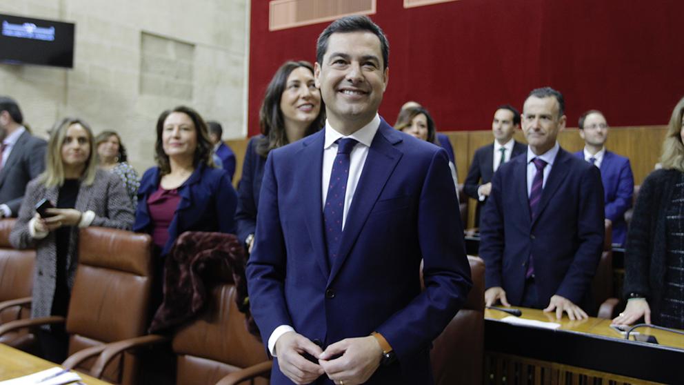 Juanma Moreno, presidente de la Junta de Andalucía. (Foto: Francisco Toledo)