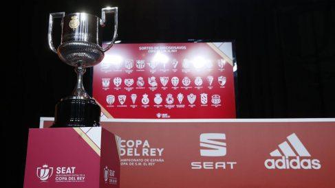 Imagen de archivo de uno de los sorteos de la Copa del Rey.