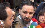 """Abascal apela a la """"responsabilidad"""" frente al """"terrorismo callejero"""" que actúa contra VOX"""