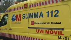 Ambulancia del SUMMA 112. Foto: EP
