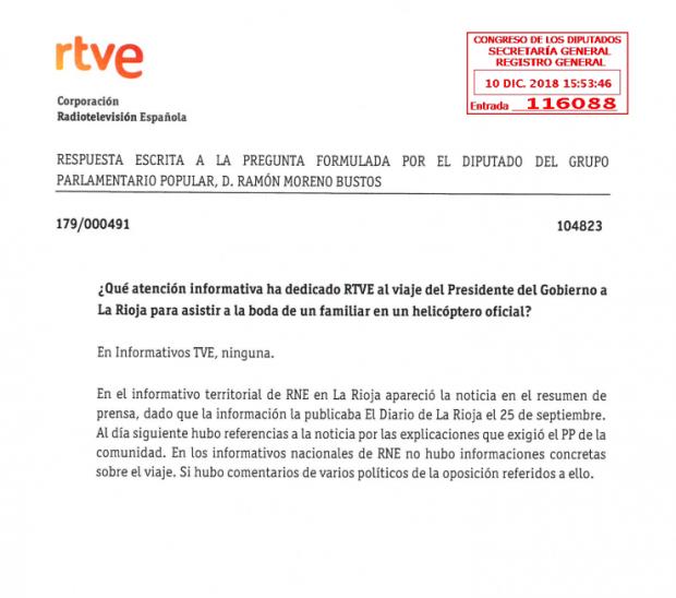 Rosa María Mateo admite que TVE silencia informaciones sensibles para Sánchez