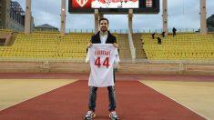 Cesc, durante su presentación como jugador del Mónaco. (AFP)