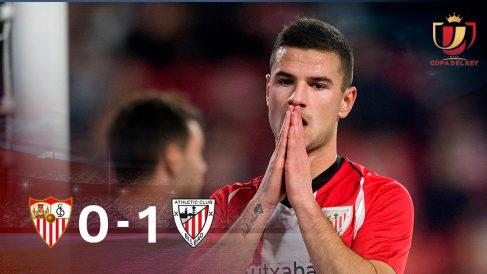 El Athletic gana y el Sevilla pasa. (EFE)
