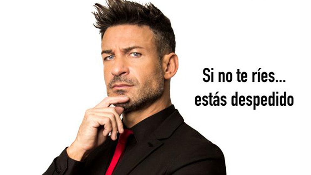 Eduardo Aldán presenta su nuevo show 'El Jefe' en el Teatro Arlequín de Madrid.