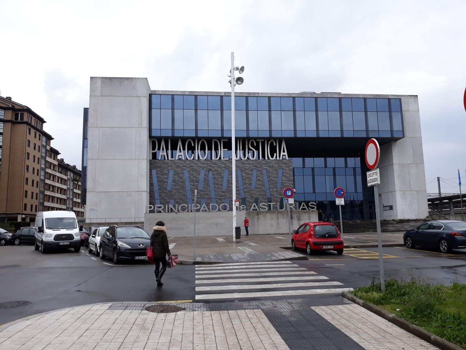 Palacio de Justicia del Principado de Asturias. Foto: Europa Press