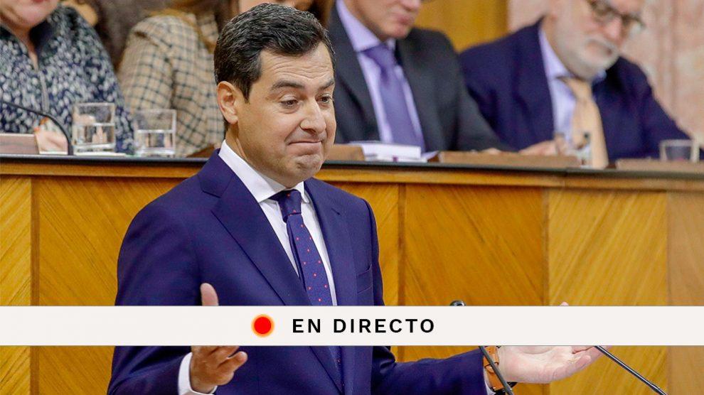 Sigue la sesión de investidura de Juanma Moreno en el Parlamento de Andalucía.