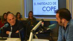 Javier Tebas admitió en la Cope que votará a VOX.
