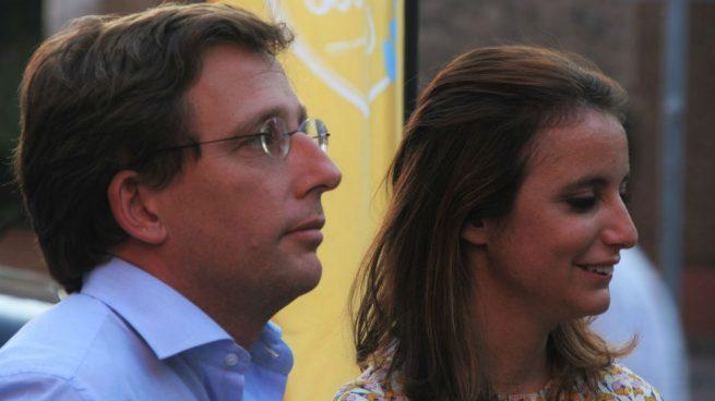 Martínez Almeida y Andrea Levy. Foto: Europa Press