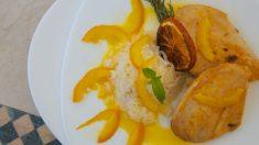 Receta de Pollo en salsa de mandarina