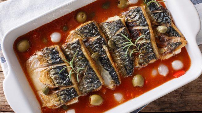 Receta de sardinas gratinadas al horno