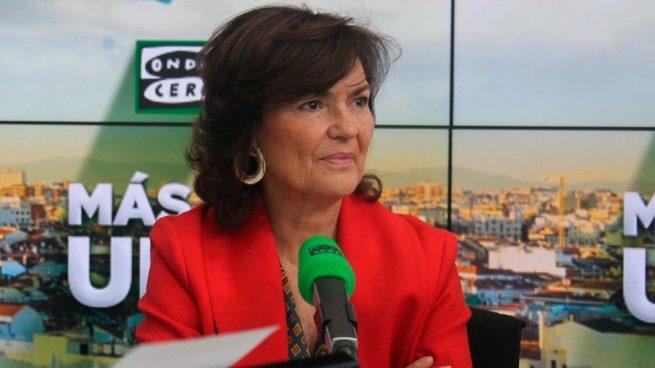 Calvo pone en duda la continuidad de Díaz como candidata del PSOE andaluz en futuras elecciones