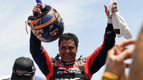 Nasser Al-Attiyah, ganador de coches del Dakar 2019. (AFP)