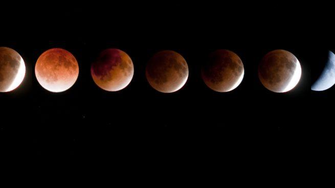 ver en España el eclipse de luna y la superluna de hoy