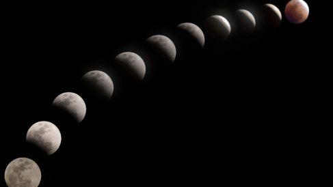 Eclipse lunar 2019 en streaming en directo