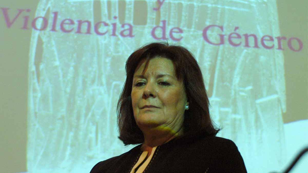 Enriqueta Chicano,  del Tribunal de Cuentas. Foto: EFE