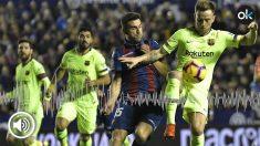 El Levante va a denunciar al Barcelona por alineación indebida.