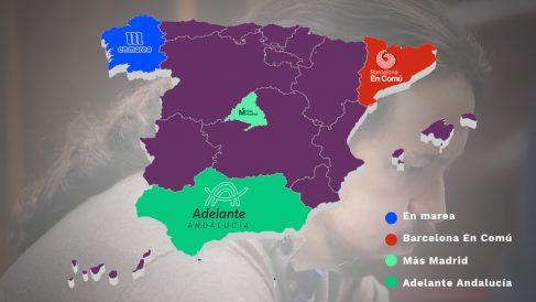 Mapa Podemos