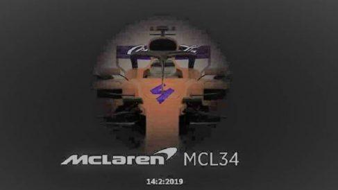 McLaren desveló parte del coche que pilotará Carlos Sainz en el próximo Mundial de Fórmula 1. (Facebook)