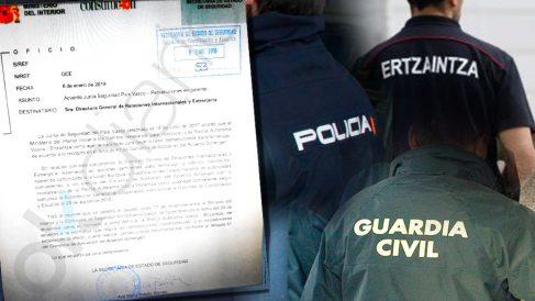 Interior equipara a Ertzaintza con Guardia Civil y Policía para persecuciones en caliente