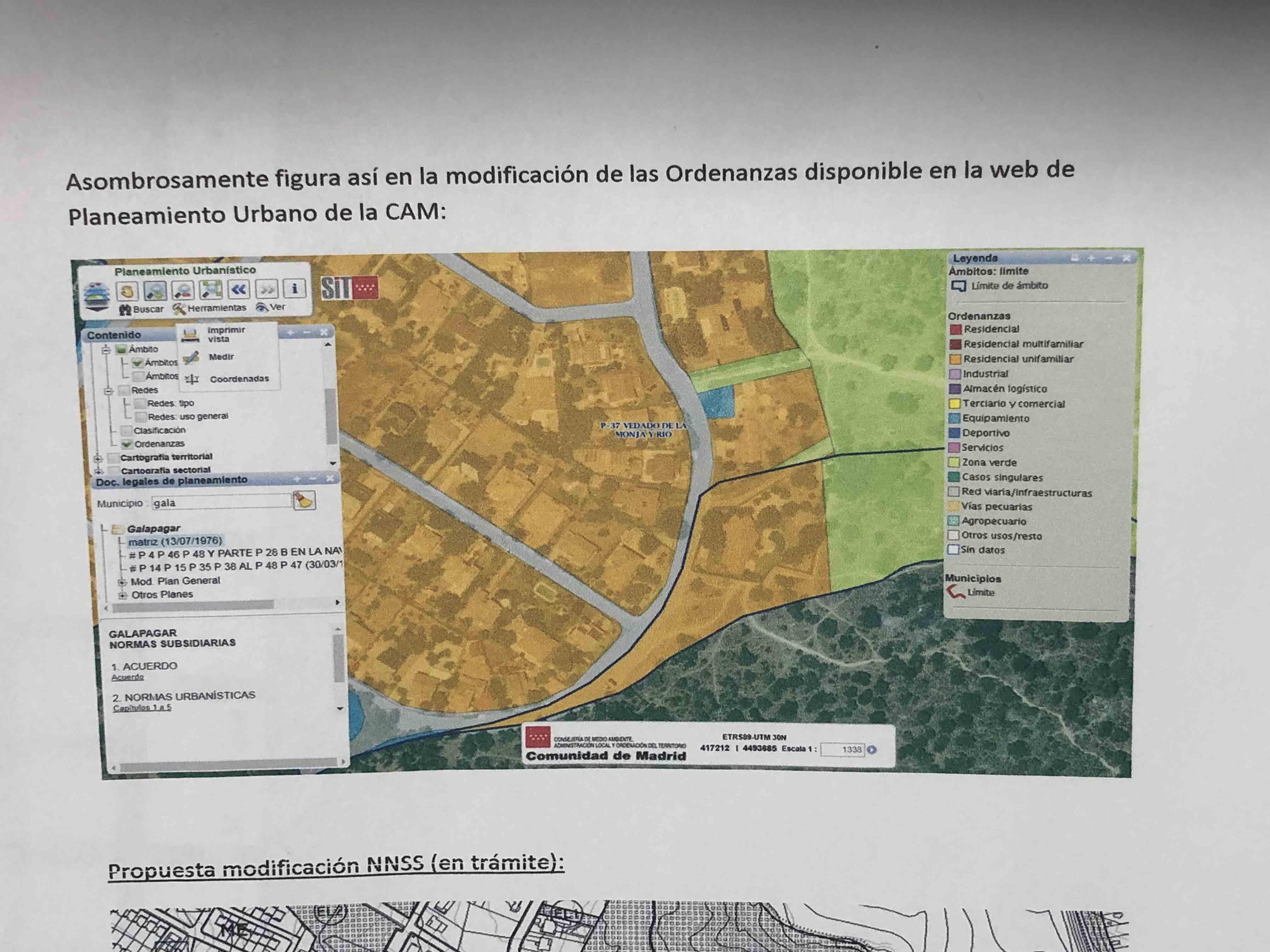 La Comunidad tumbó en 2017 la amnistía municipal que pretendía regularizar el chalé de Iglesias en un parque natural