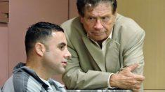 Pablo Ibar en una foto de 2016 durante una de las sesiones de su juicio. Foto: AFP