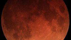 Qué es la luna de sangre y por qué se produce