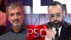 Risto mejjide junto al número uno del PSOE de Barcelona, Jaume Collboni