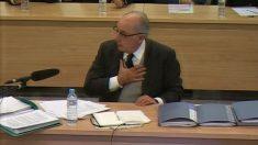 Rodrigo Rato, en el juicio