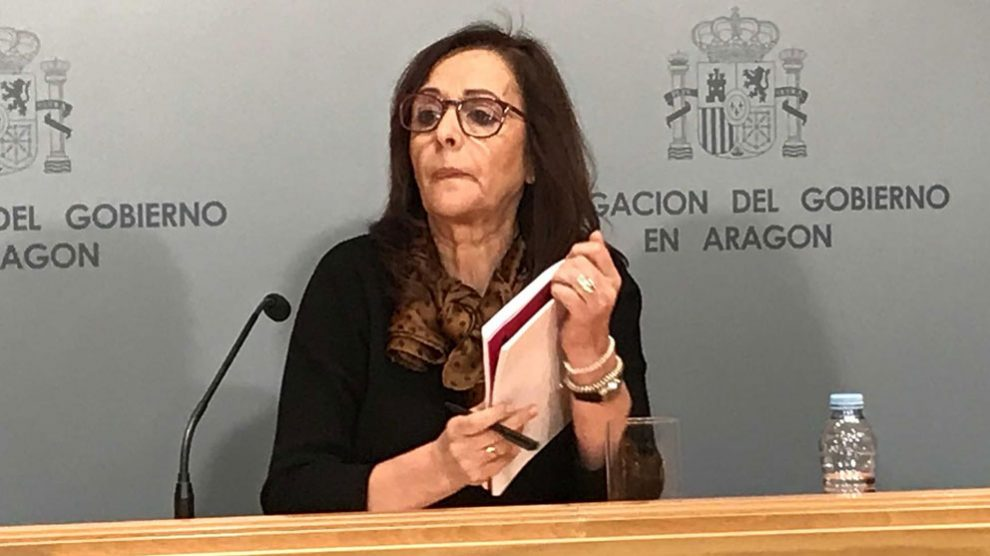 La abogada Pilar Rebeca Santamalia, de 47 años de edad, asesinada en Zaragoza. Foto: Europa Press