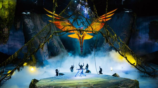 El Cirque du Soleil llega a Barcelona, Madrid y Pamplona con un espectáculo inspirado en 'Avatar'
