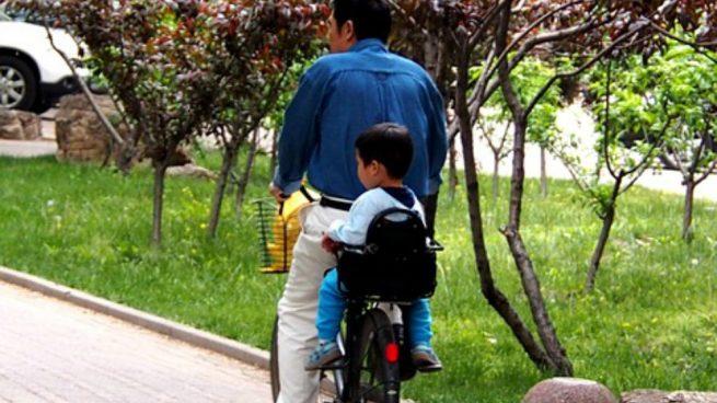 salir en bici con el bebé