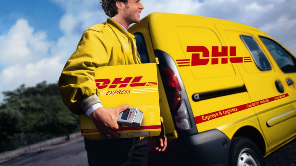 Reparto de DHL Express