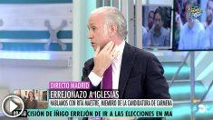 Eduardo Inda en el programa de Ana Rosa Quintana.