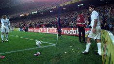 Figo, en el Barça – Madrid del cochinillo