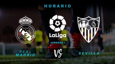 El Real Madrid se medirá con el Sevilla en un partido de máximo nivel en el Bernabéu.