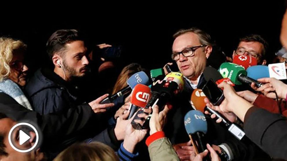 El ingeniero Ángel García Vidal en declaraciones  los medios. Foto: Europa Press
