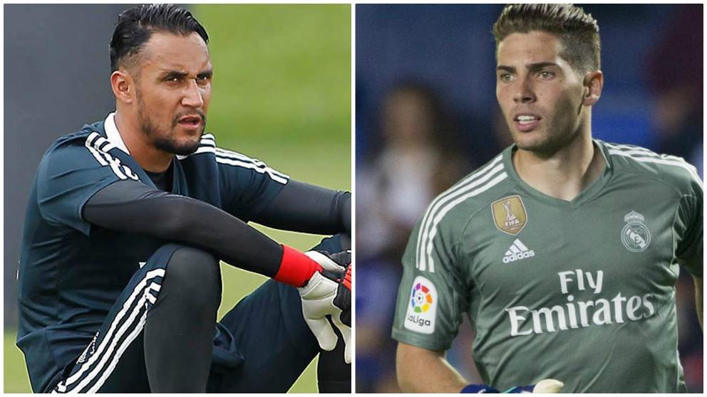 Keylor Navas abre la posibilidad a Luca Zidane de debutar en la presente Liga.