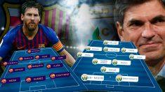 Barcelona y Leganés se enfrentan este domingo en el Camp Nou.