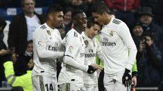 El Real Madrid se reconcilia con el Bernabéu. (AFP)
