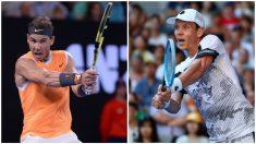 Nadal y Berdych. (Getty)