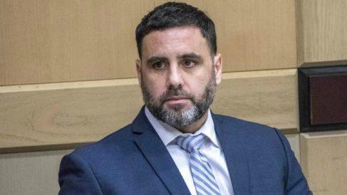 Pablo Ibar, en el tribunal de Florida. (EFE)